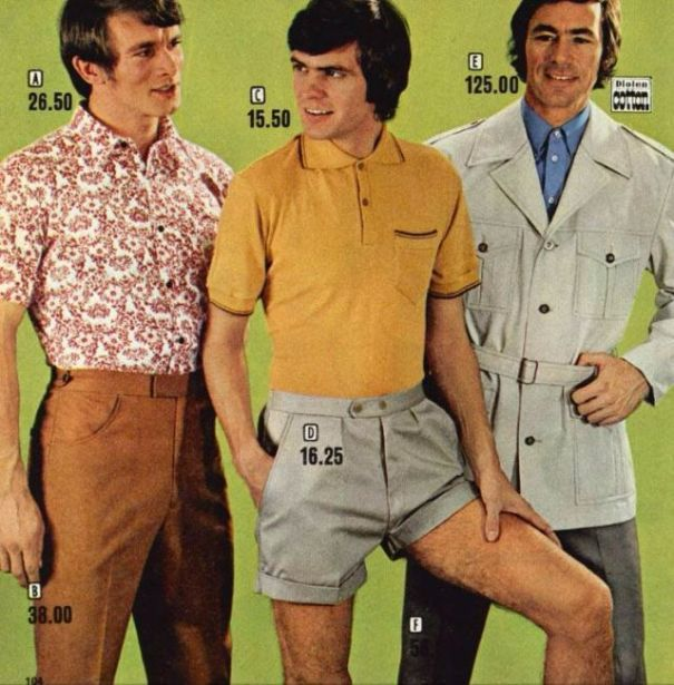 d7e5fc0ce1166 16 cool ads of men's shorts from the 1970s.
