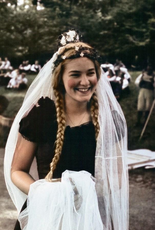 22487440942 Woman in costume, 1939, Sweden. – Vintage Stuff