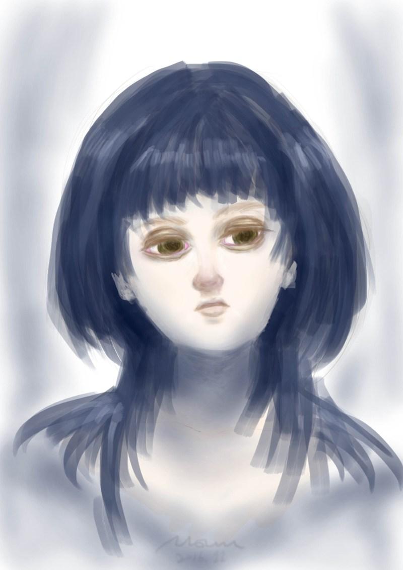 [ MOUMU ILLUSTRATION ] PORTRAIT PRACTICE 1 moumudo.com