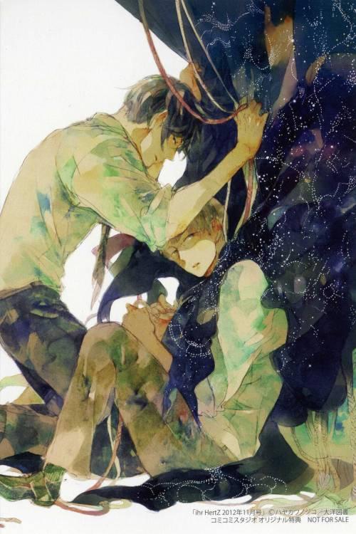 """sumire-to-suzuran: """"""""Yozora no Sumikko de"""" by Hayakawa Nojiko """""""