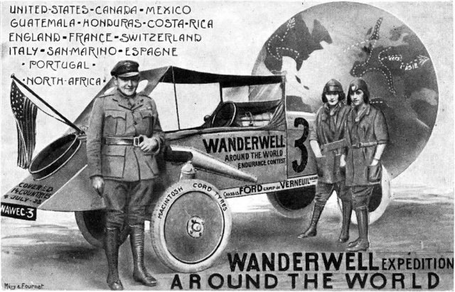 L'affiche Wanderwell expedition
