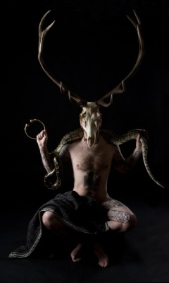 fuckyeahpaganism:  Cernunnos, the Horned One.