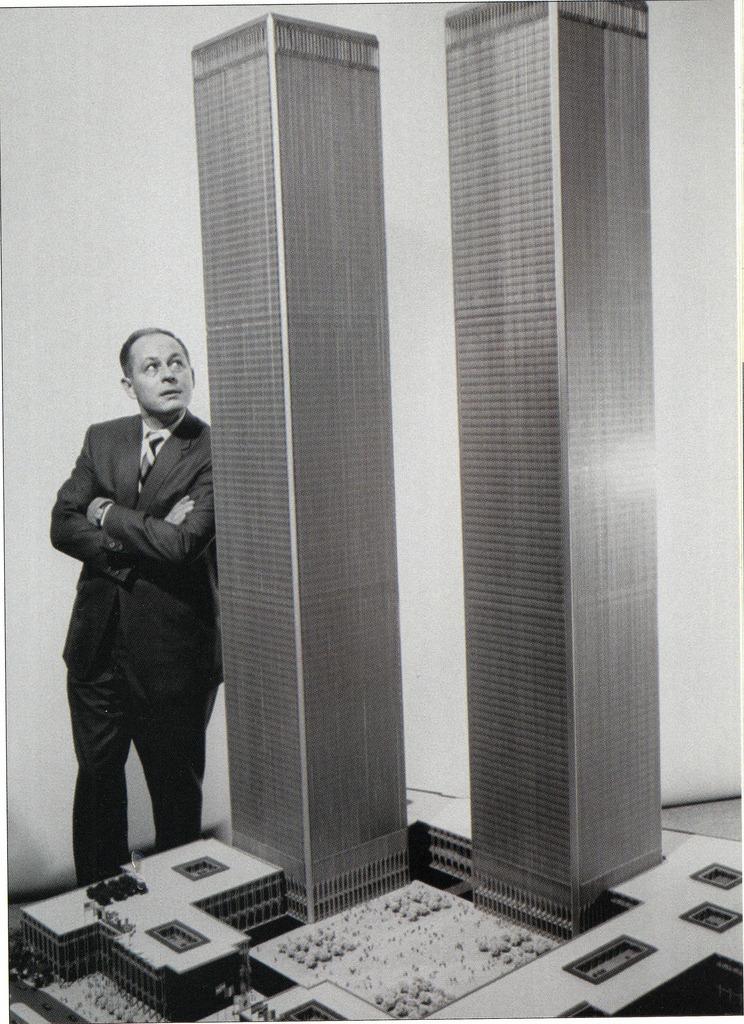 World Trade Center scale model - January 1964