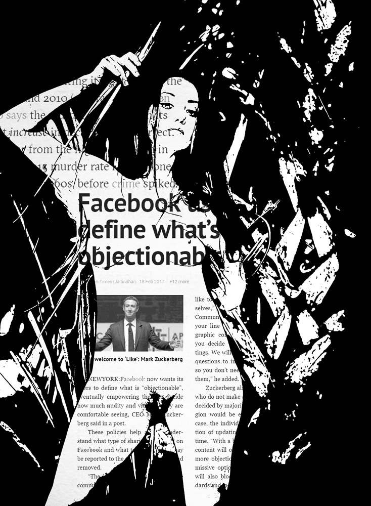 Facebook Defines What's Objectionable. #NewSeries
