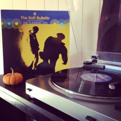 """musicforants:Now Playing: The Flaming Lips """"The Soft Bulletin"""" #vinylsunday"""