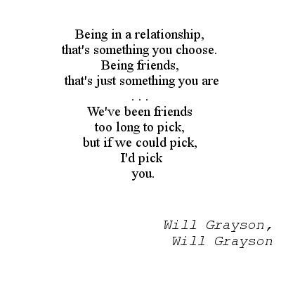 Bilderesultat for will grayson will grayson quotes