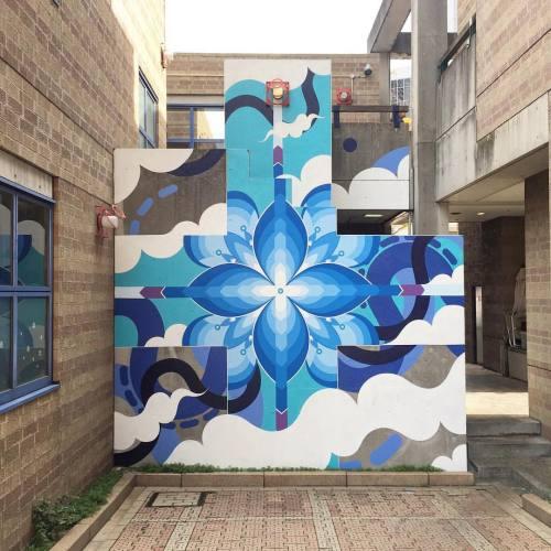 impermanent-art:  @htzk mural for last month's @powwowjapan on Rokkō Island, Kobe. _________________________________#htzk #hitotzuki #powwowjapan #powwowworldwide #powwow #mural #art #urbanart #publicart #streetart #streetartjapan #japanstreetart #rokkoisland #kobe #japan #impermanentart #ontour (at River Mall)