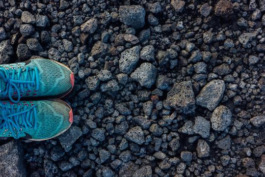 Lava flow sighting in Big island, three days in big island