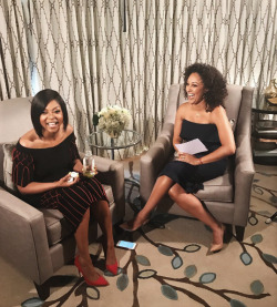 luvpeacesoul:1|13|17: Watch @TherealTaraji's One-on-One interview w/ @TameraMowryTwo tomorrow on @therealdaytime ! #HiddenFigures