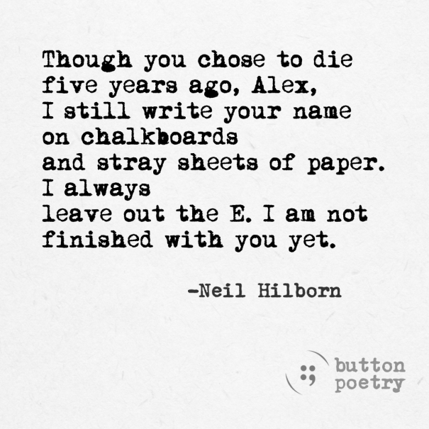 Image result for neil hilborn lines