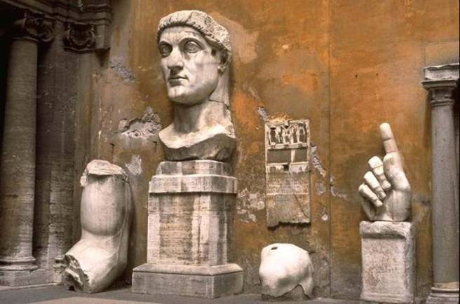 Image result for Ancient Roman Statue colossus