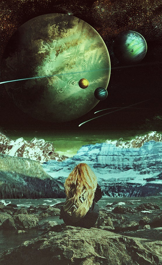 psychedelic space art