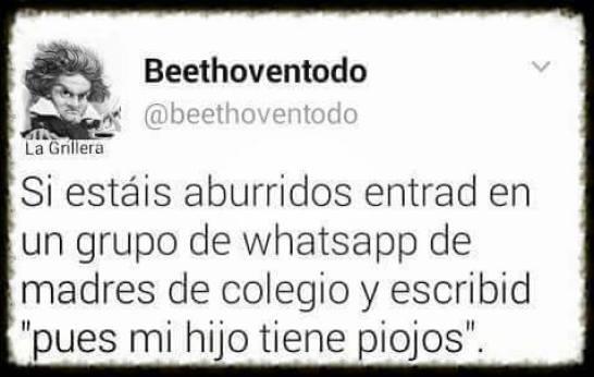Si te añaden al whatsapp del cole, estas perdido!!!