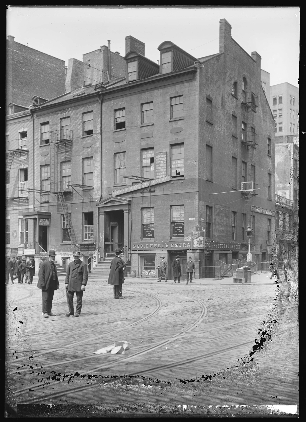 official photos 4af18 50f3c British Consulate General Office for Seamen, New York City,… – Vintage Stuff