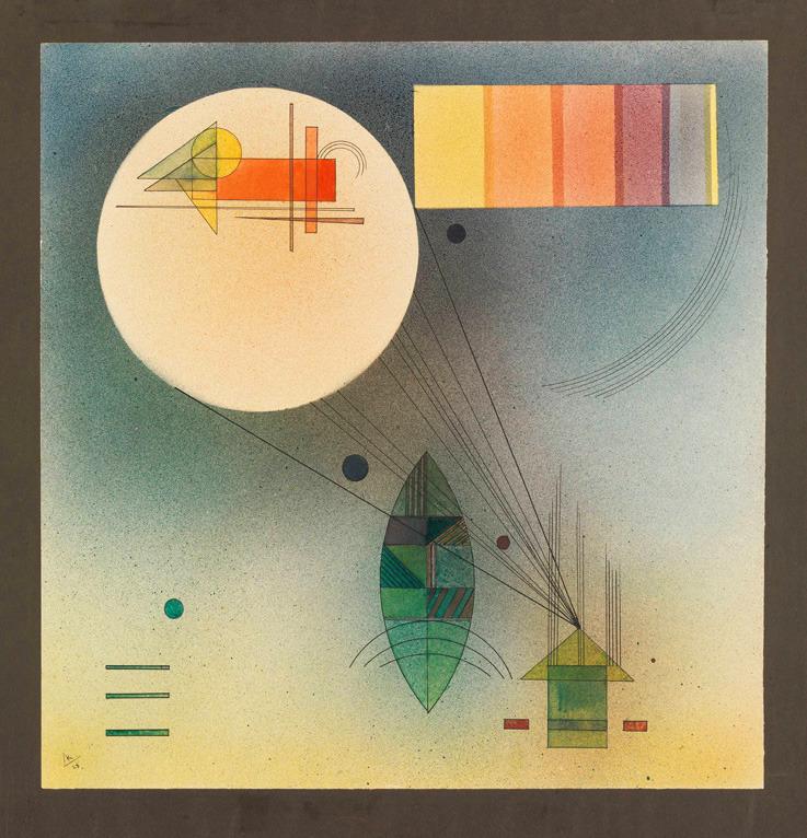 Wassily Kandinsky, Scale / Skala, 1928. Via Louisiana Museum of Art, Denmark