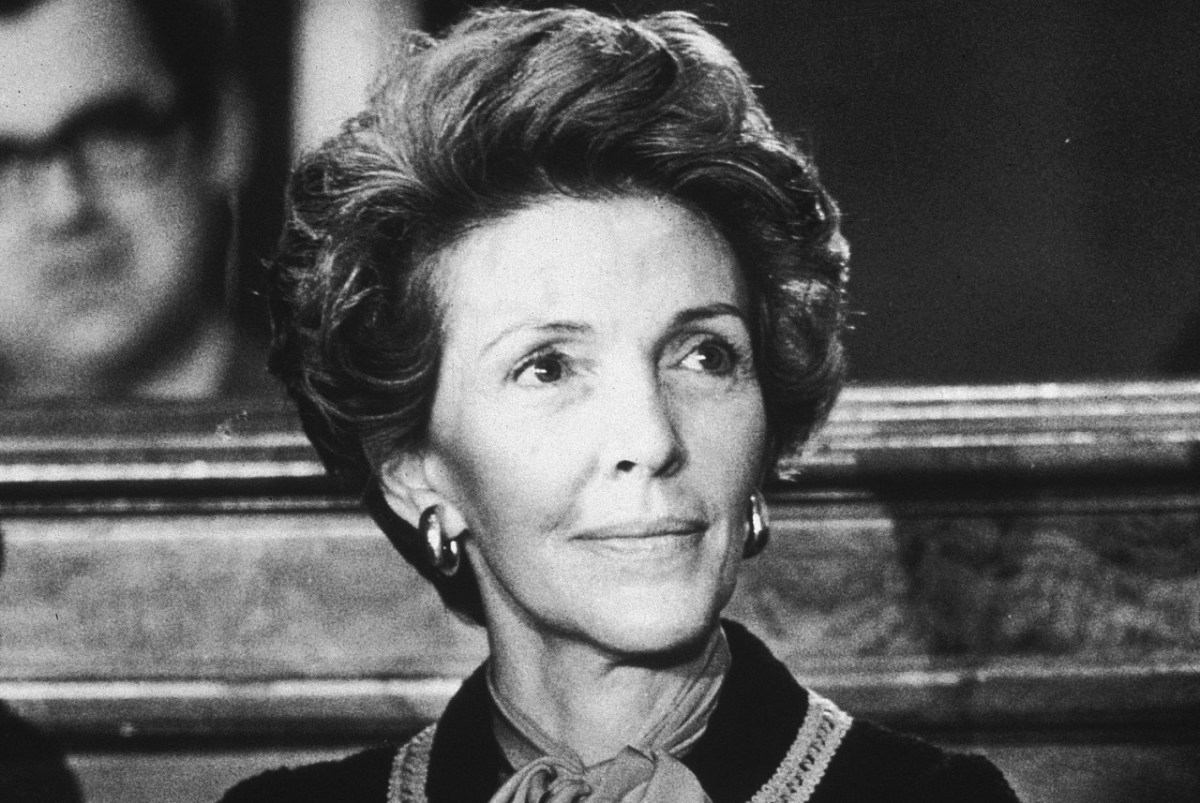 GONE BACK TO THE GIPPER.. NANCY REAGAN DEAD AT 94