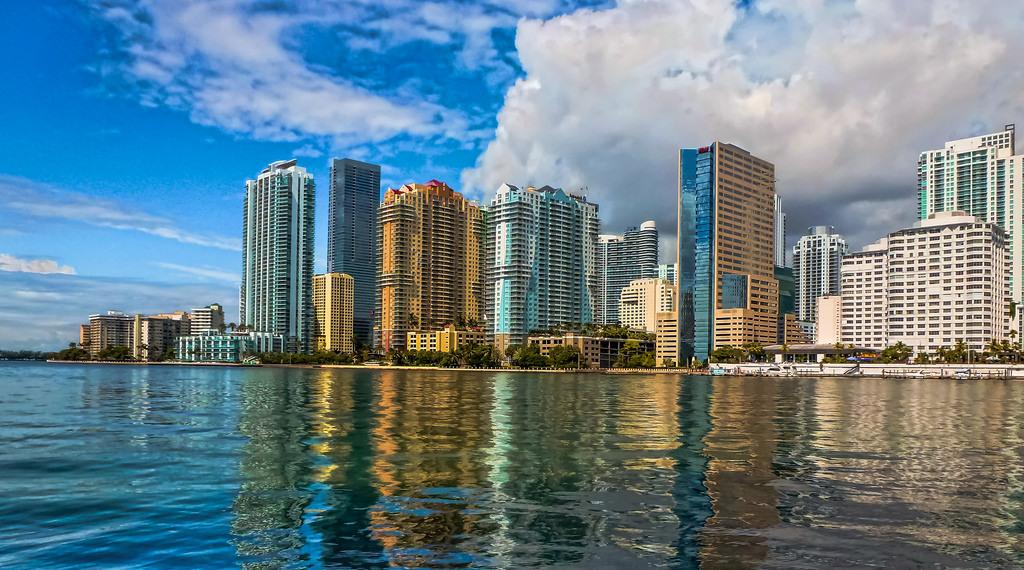 "Skyline.""Downtown Miami is an urban city center, based… – Skylines"