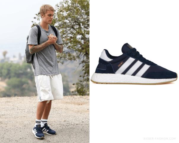 9f45a58ad Adidas Originals Iniki Runner Shoes in Collegiate Navy Running ...