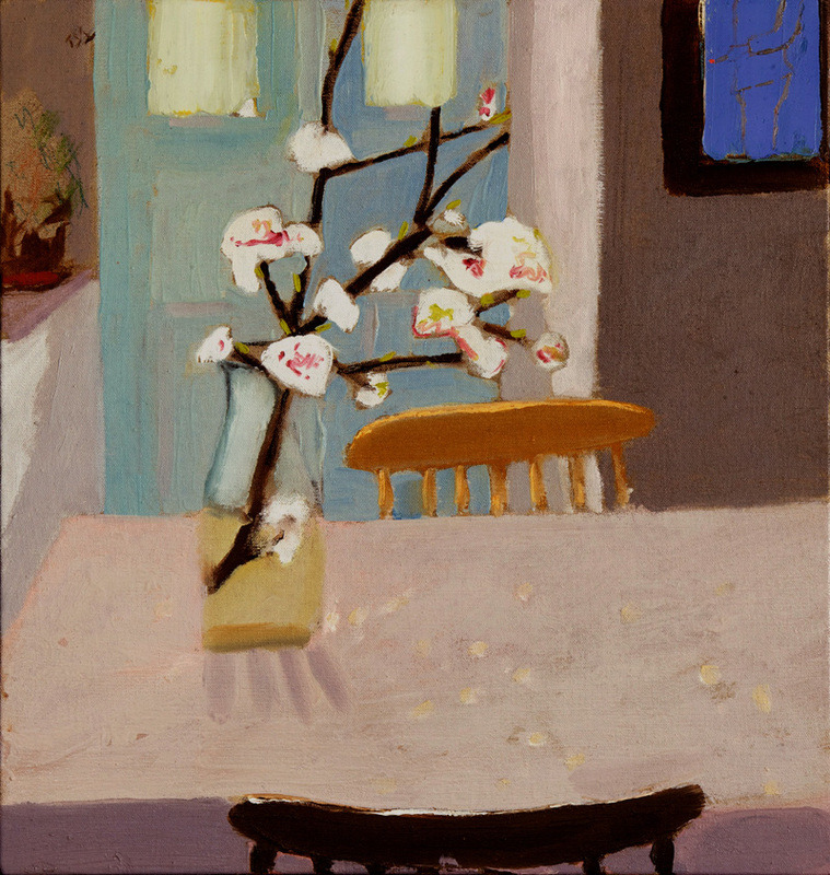 "lilithsplace: ""Small almond tree, 2009 - Boaz Noy (b. 1972) oil on canvas 