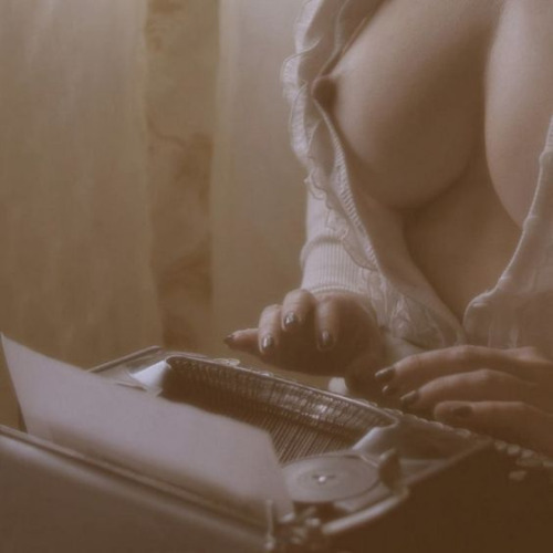 Erotica doesn't write itself, you know.