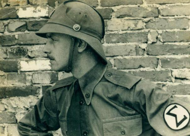 1149af72e9 A Brazilian Integralist Greenshirt Militant in São Paulo, 1935… – History