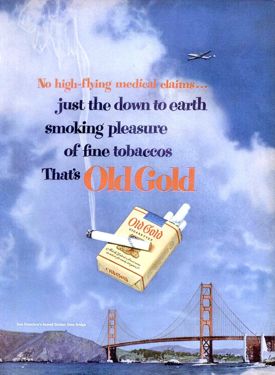 Old Gold Cigarettes - 1951