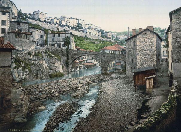 Thiers, France 1890-1900 via reddit – History