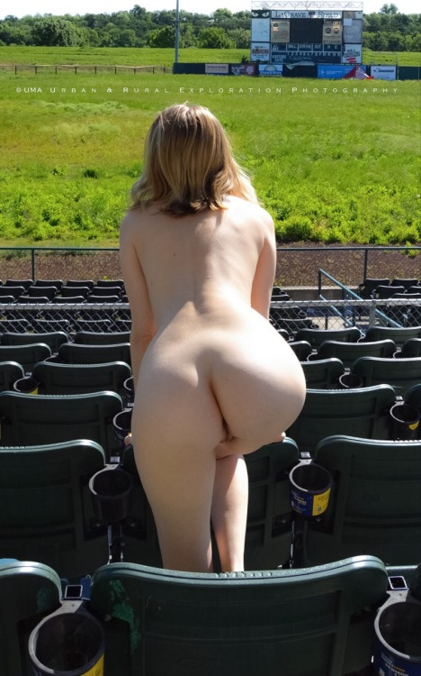 "undress-me-anywhere: ""La Grave field, Fort Worth, Tx "" Bliss in the bleachers."