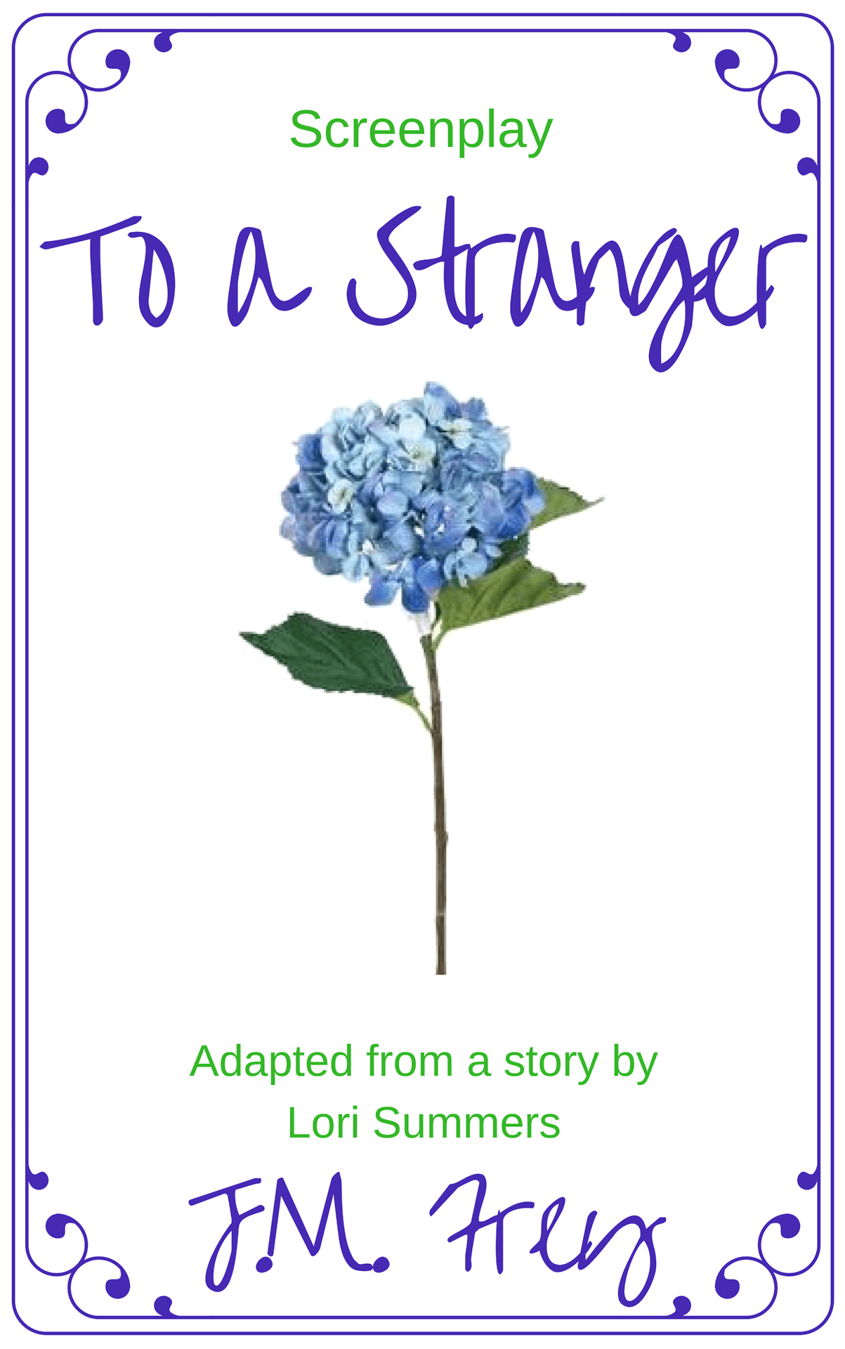 To A Stranger Cover