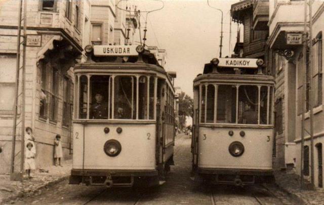 Eski İstanbul'da Tramvaylar