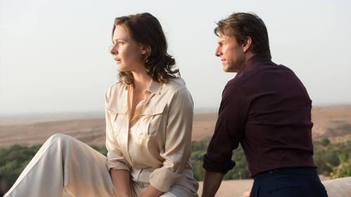 Image result for ethan hunt ilsa faust