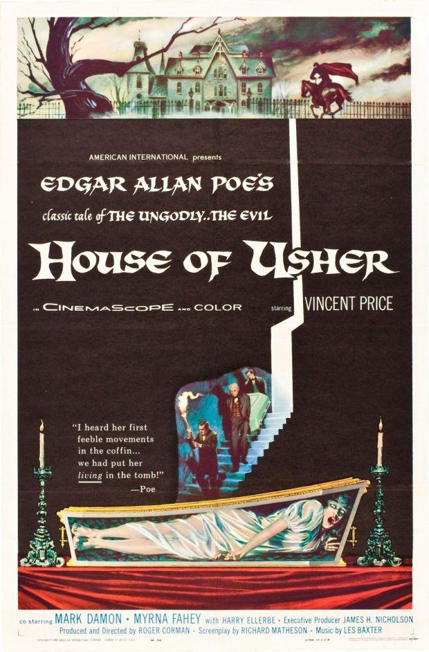 'A Queda Da Casa Usher' (1960) - Fonte: Tumblr