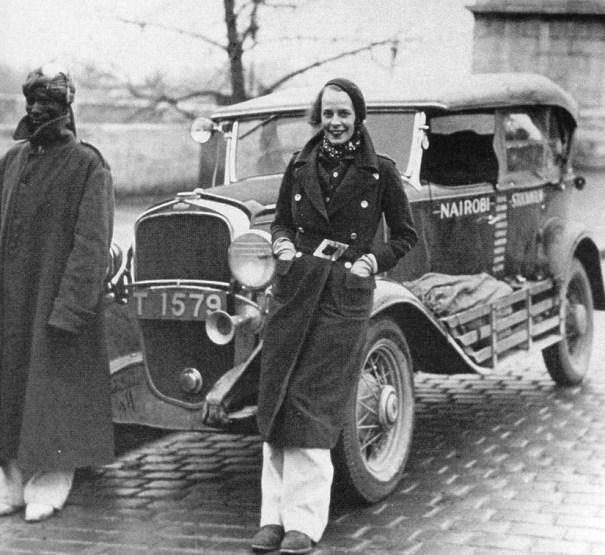 Swedish explorer Eva Dickson. She was a rally driver a0194d1fb47d1