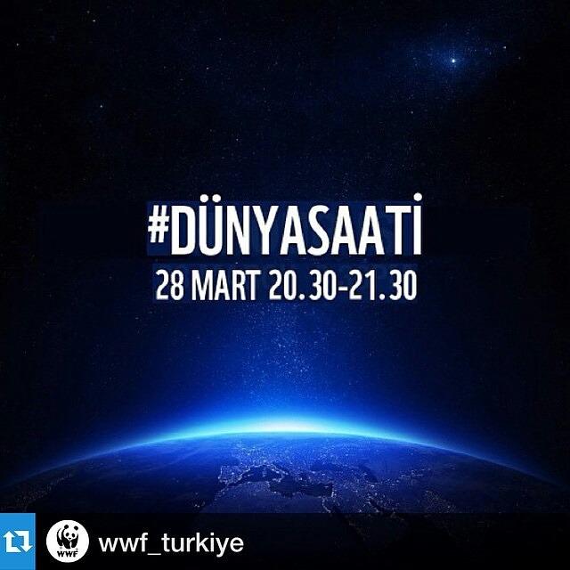 Bugün #Dünyasaati günü!! Bu akşam saat 20:30 da 1 saatliğine ışıklarımı kapatacağım. Yalnız değilim!! İstanbul'da Boğaz Köprüsü ve Ortaköy Büyük Mecidiye Camii de benimle birlikte :) Dünya için!! Gelecek için!! Azalan su rezervlerimize, yok olan...