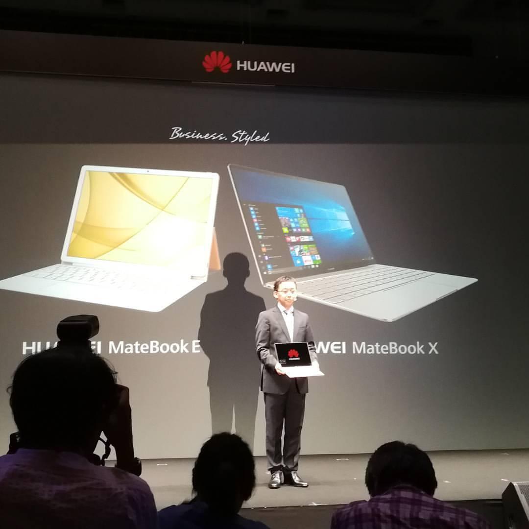 MateBook E/Xを発表