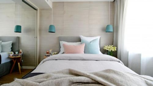 (via The Block room reveals: Dea & Darren's bedroom / Insideout )