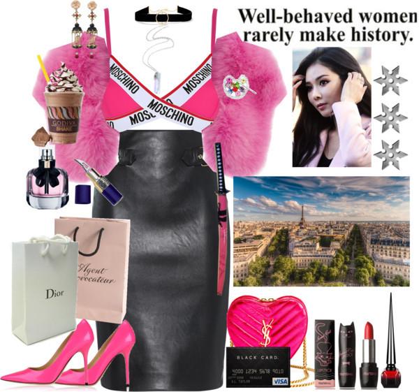 Paris shopping by lucilxlu featuring crossbody purses