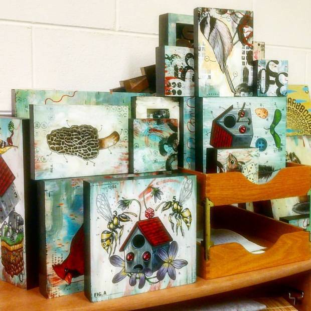 Painting storage…