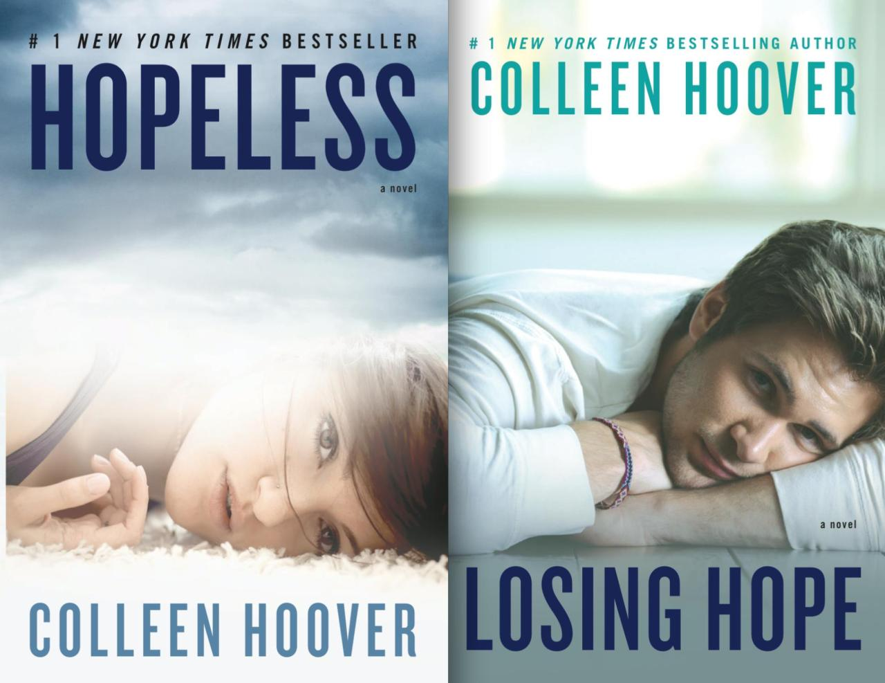 Image result for colleen hoover hopeless and losing hope