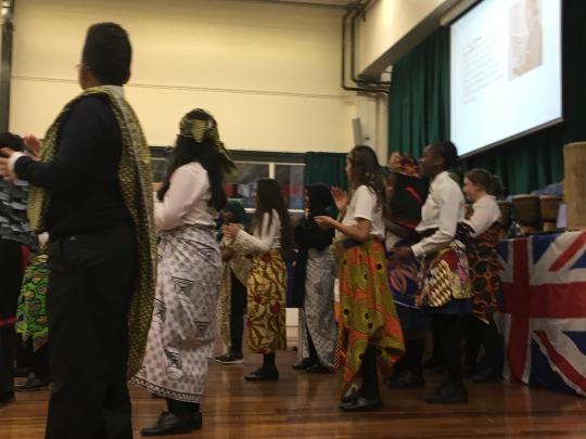 African Activities School workshops with Hurlingham Academy
