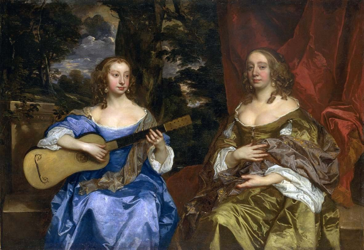 Sir Peter Lely, Two Ladies of the Lake Family, ca. 1660