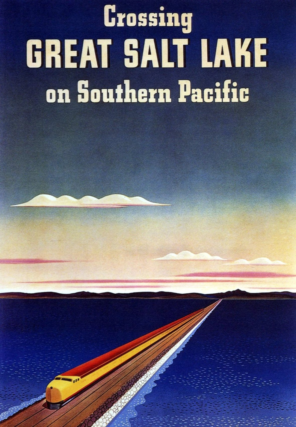 Southern Pacific Railroad - 1940