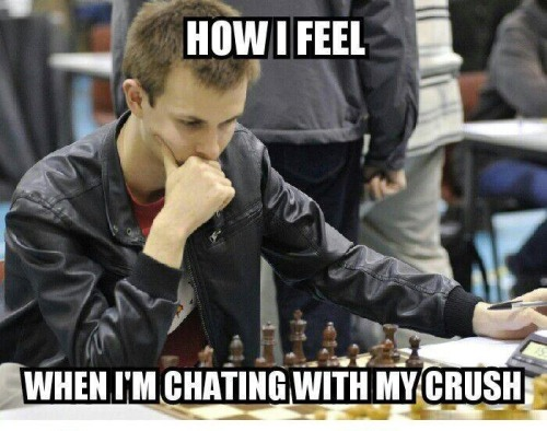 How I Feel When I'm chatting with my crush. Funny Pictures Funny Quotes Funny Memes