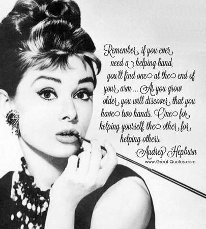 audrey hepburn quotes on Tumblr