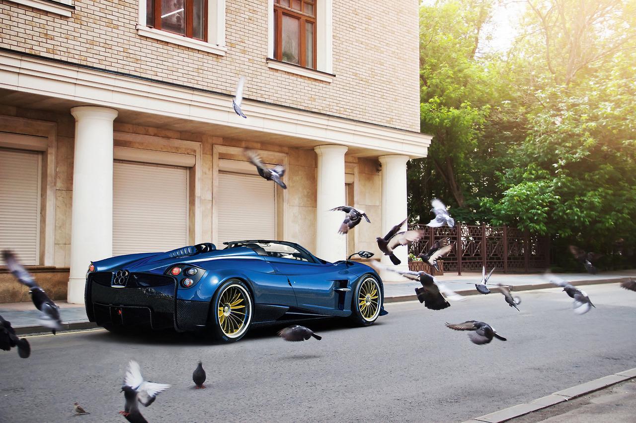 Starring: Pagani Huayra Roadster By Ivan Orlov