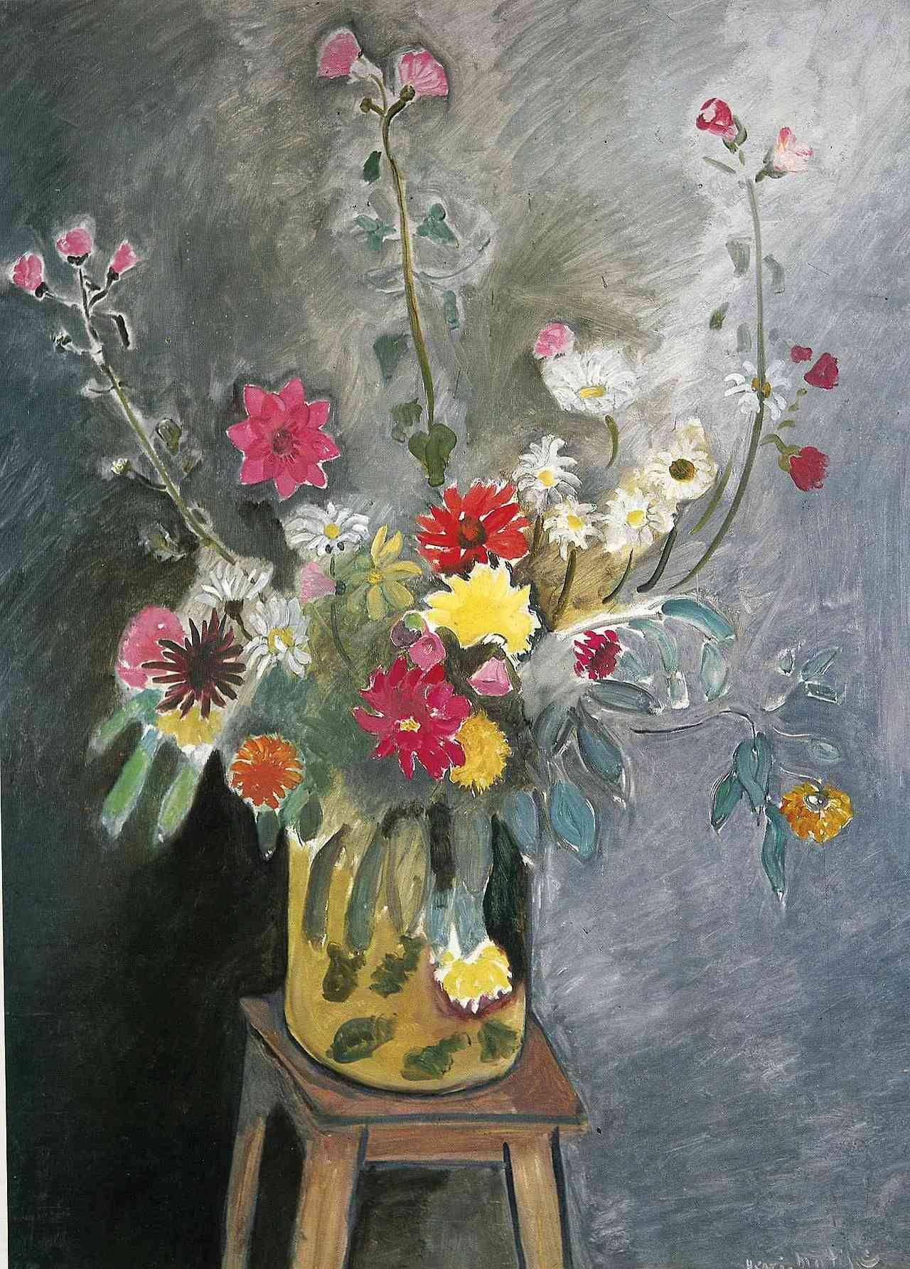 "artist-matisse: ""Bouquet of mixed flowers via Henri Matisse """
