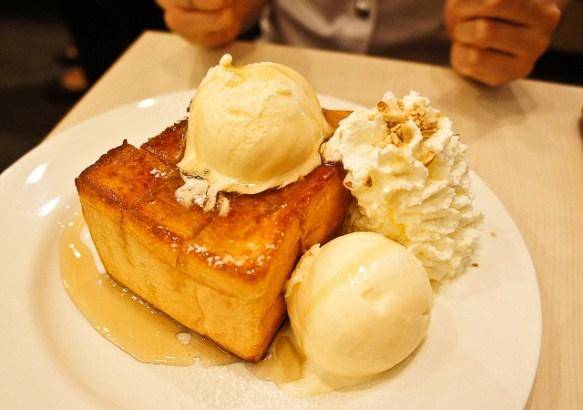 Image result for ice cream bread honey