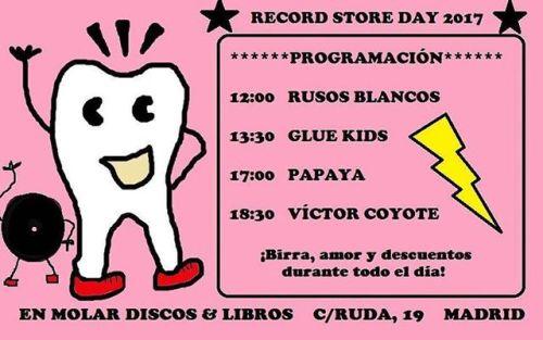 Aquí os dejamos nuestra programación para el Record Store Day de este año. Habrá ediciones especiales, descuentos, conciertos y @cervezasalvaje. Os esperamos el sábado 22 desde las 11 de la mañana hasta que el cuerpo y las existencias...