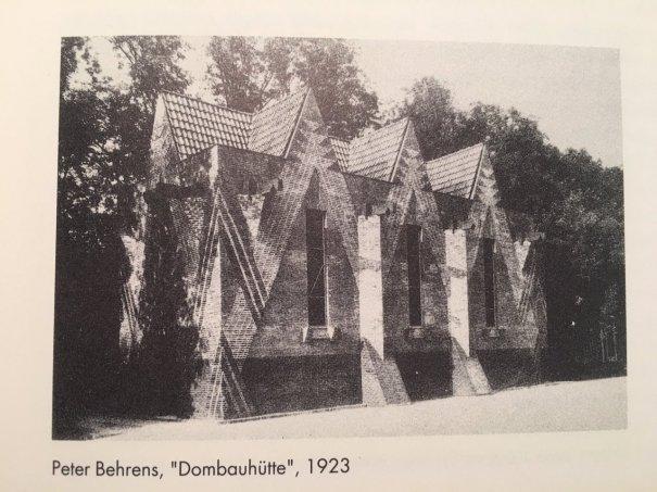 furtho: Peter Behrens\' Dombauhütte. Munich, 1923 (via here ...