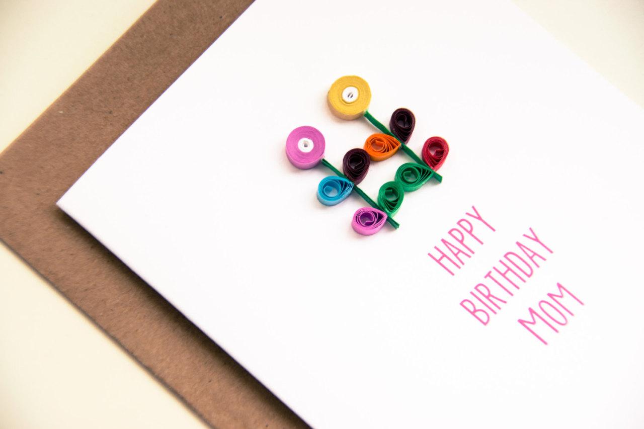 Mom Birthday Card Happy Birthday Mom Card For Of